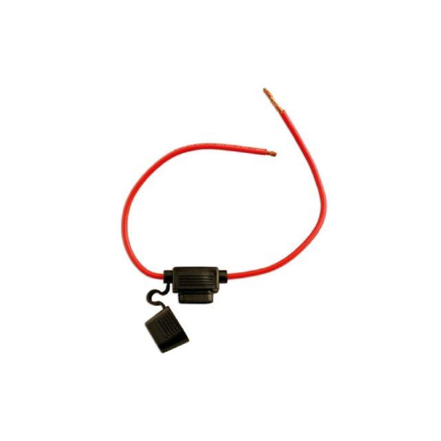 Connect Fuse Holder - Splashproof Standard Blade Type - Red - 30A - Pack Of 10
