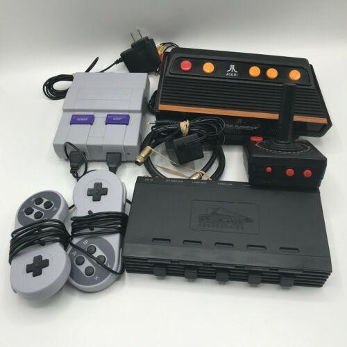 Retro Video Game Lot - Atari Flashback 6 - 400 in 1 - Pelican Console Switch