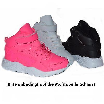 Mädchen Knöchelschuhe Boots Sneaker Gr. 25 26 27 28 29 30 31 32 33 34 35 36 NEU ()