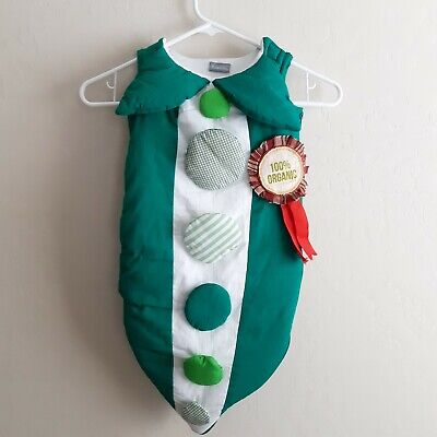 Land Of Nod Halloween (Infant Land Of Nod costume pea pod organic  newborn 3 month  farm barn)