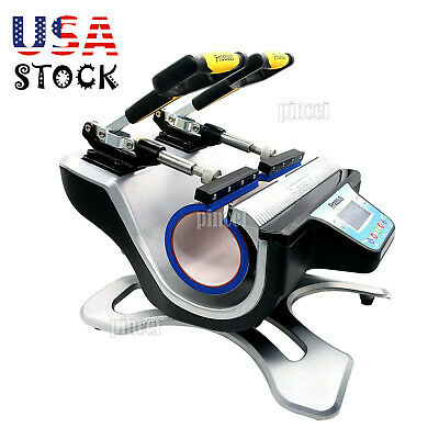 Freesub Automatic Double Mug Heat Press St-210 Sublimation Transfer Printer Usa