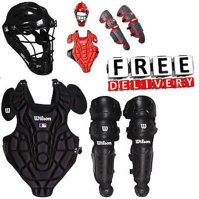 Catchers Equipment Gear Baseball Youth Set Little League Softball Tee Ball