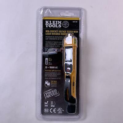 Klein Tools Ncvt-4ir Voltage Tester Thermometer Ac Voltage Ir Hvac Tester