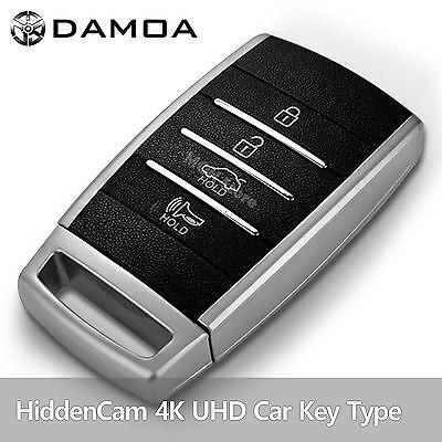 DAMOA CK-800QH 4K UHD Car Key Spy Hidden Camcorder Camera Motion Detection 32GB