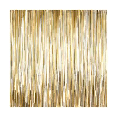 Sumind 4 Packs Photo Booth Backdrops Foil Curtains Metallic Tinsel Backdrop C... - Photo Booth Halloween Background