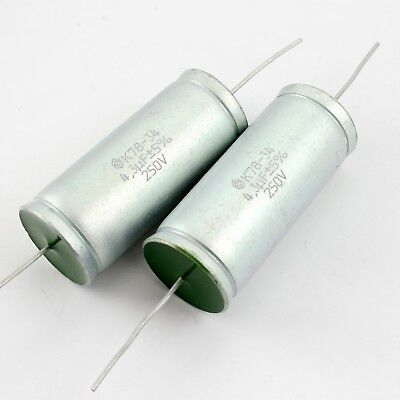 4.3uf 250v 5 Matched Pair Audiophile Grade Capacitors For Speaker Crossovers