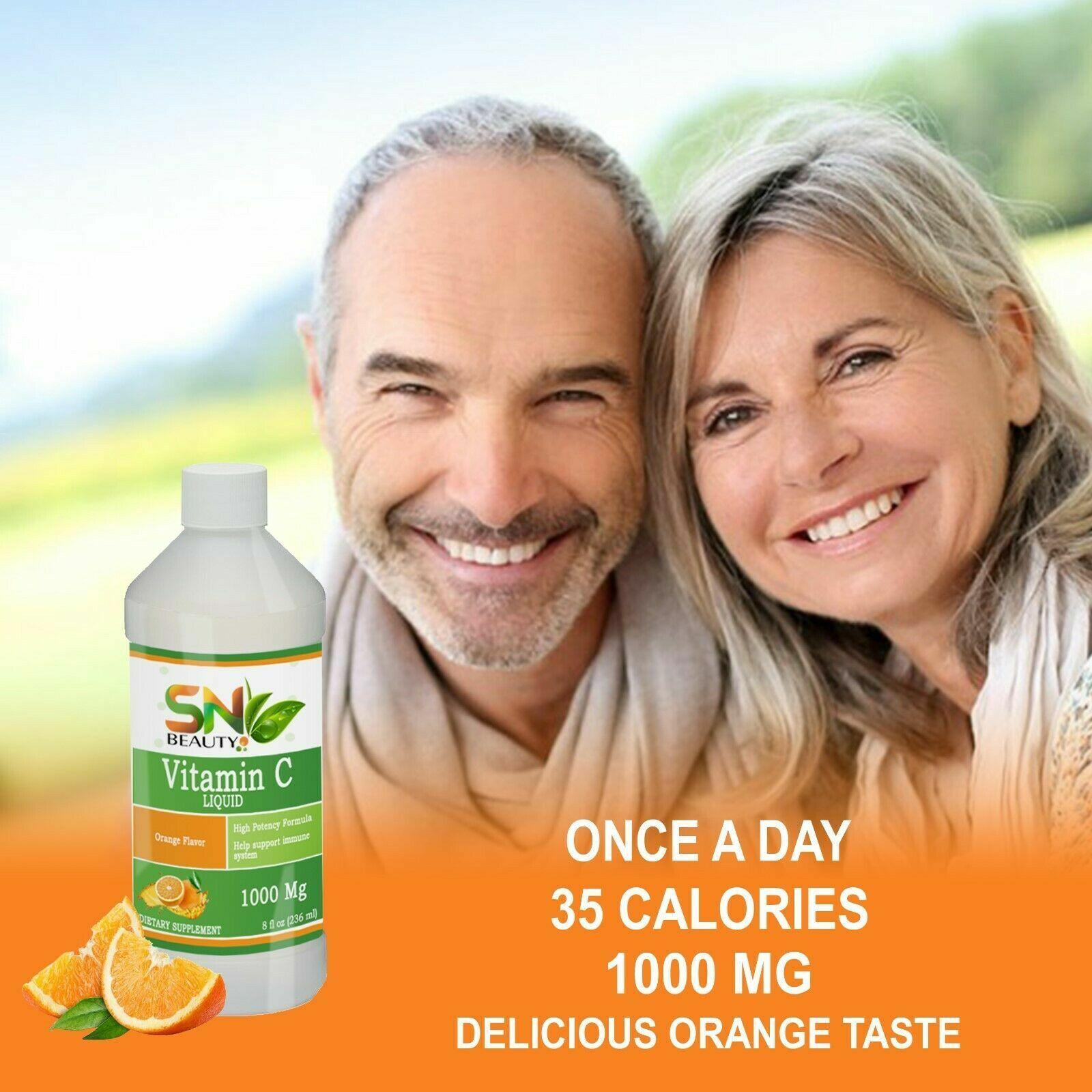 Pure Vitamin C 1000 mg support immune System very high quality liquid vitamina C 1