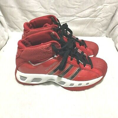 cf4cf1be78df ADIDAS PRO MODEL BASKETBALL SHOES - RED WHITE BLACK ( SIZE 8 ) WOMEN`S