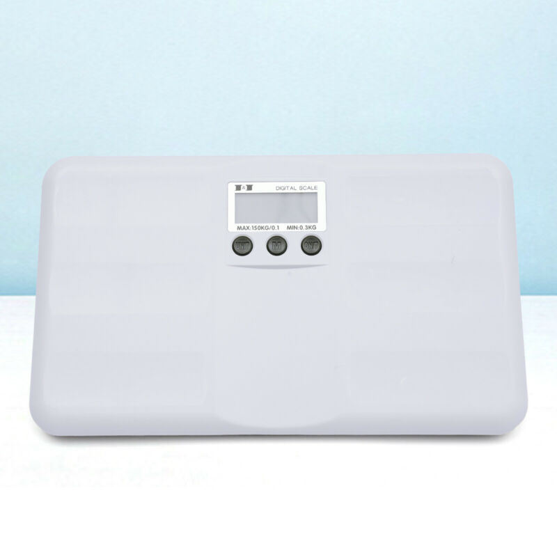 Digital Body Weight Bathroom Scale Accurate Weight Measurement Equipment White