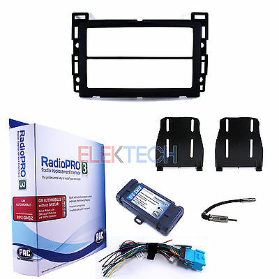Radio Replacement Adapter Interface & Dash Kit for Chevrolet/Pontiac NO-Onstar