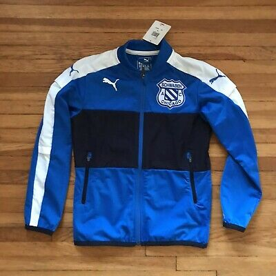 half off 36332 f80e2 Puma Youth M warm Up Jacket Soccer Msrp  60