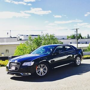 Chrysler 300 Limited 2015 Black