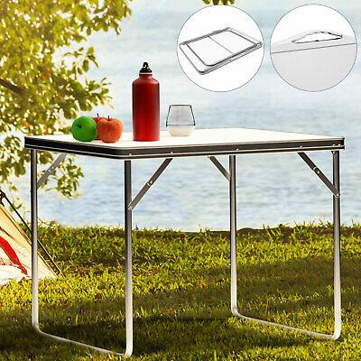 Mesa auxiliar plegable de aluminio para camping playa terraza fiesta exterior