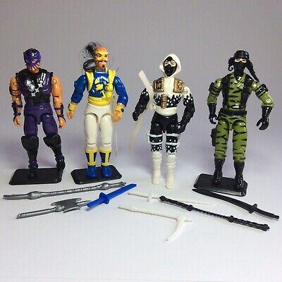 GI Joe - Ninja Force Bundle - Storm Shadow - Dice - Dojo - Nunchuk- 1992