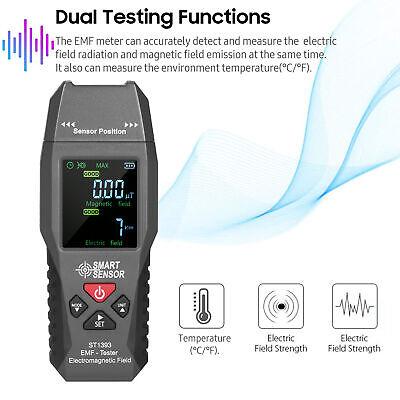 Mini EMF Meter LCD Digital Electromagnetic Field Radiation Tester Smart Detector