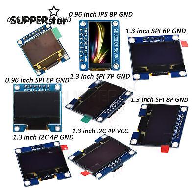 0.95inch0.96inch1.3inch I2c Iic Spi Serial Oled Lcd Led Display Module Arduino