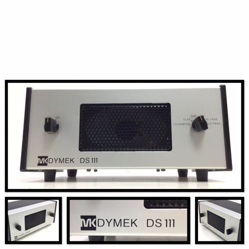 MCKAY DYMEK DS111 COMMUNICATIONS SPEAKER Ham Radio audio filtration SSB, CW,