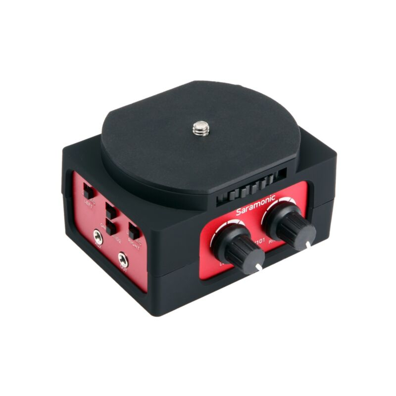Saramonic SR-AX101 Universal Audio Adapter with Dual XLR Inputs for DSLR Cameras