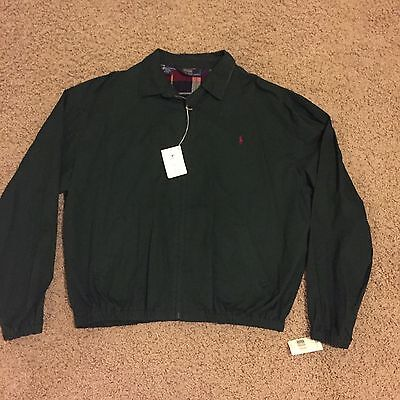 NEW Polo Ralph Lauren Pony Logo Windbreaker Jacket XL
