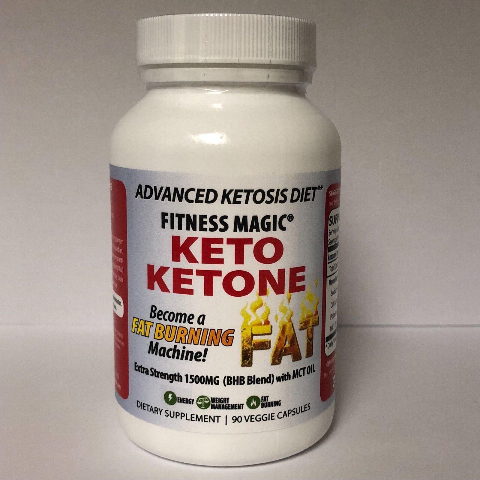 Keto Ketone 90 Veg-Caps - Become a Fat Burning Machine - 150