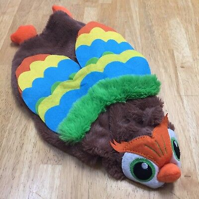 Wise Old Owl Halloween Costume Pet Dog Small Adjustable NWOT Colorful Plush