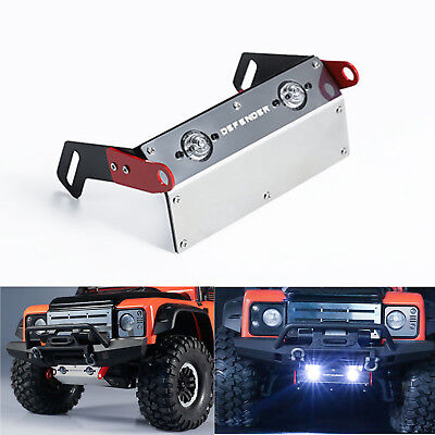 Metal Front Chassis Guard Plate for Land Rover TRAXXAS TRX-4 Defender DJC-9171
