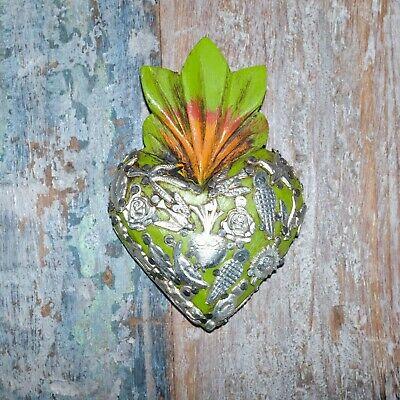 Mexican Milagro Heart Decoration Mini M
