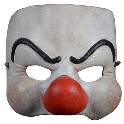 Adult Mens Dim Droog A Clockwork Orange Rampage Halloween Costume Clown Mask