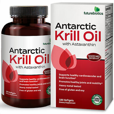 Futurebiotics Antarctic Krill Oil Omega-3s EPA, DHA & Astaxa