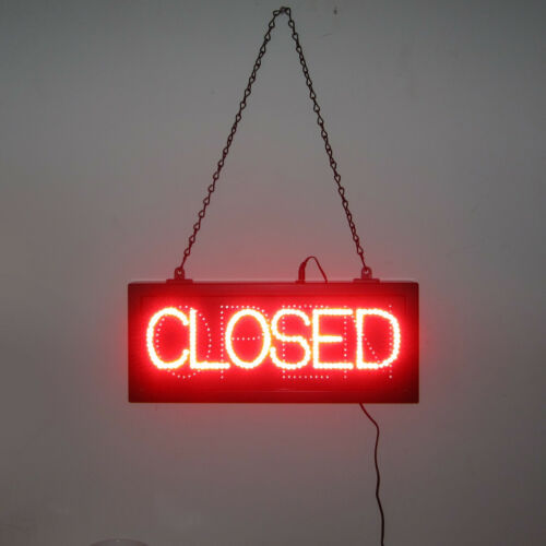 Brightest Red  LED Open or CLOSED sign for business  for window  opti neon