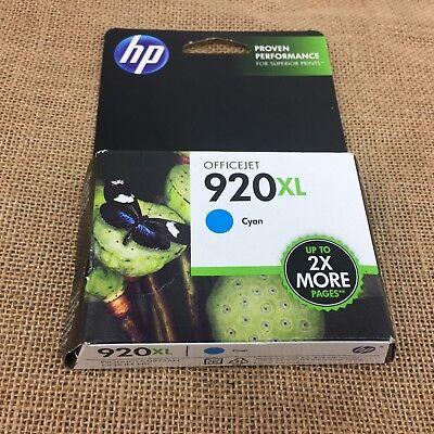 920 Cyan Officejet Ink (HP 920XL cyan office jet ink cartridge Expiration November 2013 China)