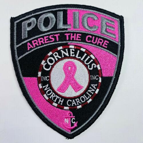 Cornelius Police North Carolina Pink Breast Cancer Awareness Patch (A2)