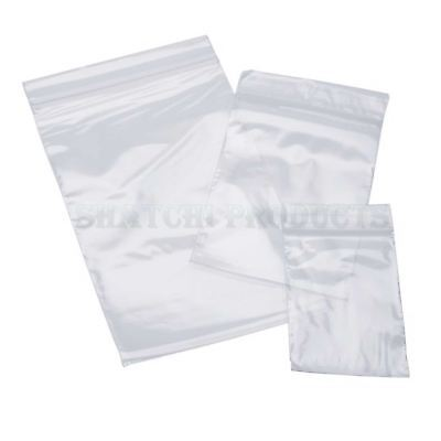 500 3.5 X 4.5 Clear Resealable Plastic Bag High-quality Storage Bags Zipper