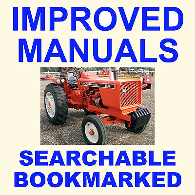 Allis Chalmers AC 160 Tractor SHOP SERVICE REPAIR IMPROVED MANUAL = SEARCHABLE for sale  Shipping to India