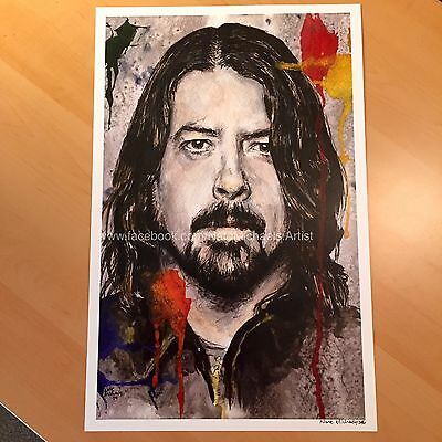 Dave Grohl / Foo Fighters / Nirvana - Fine art print / poster