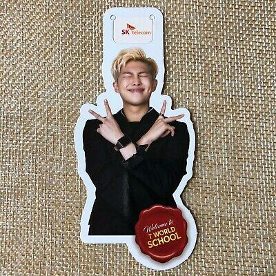 BTS RM RAP MONSTER [ SKT Official Bookmark Limited Edition Photocard ] / NEW /+G