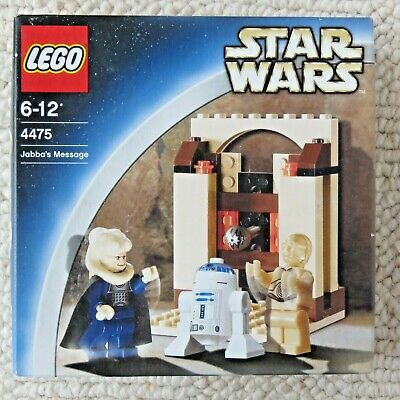 LEGO® Star Wars 4475 Jabba's Message BNISB inc Bib Fortuna