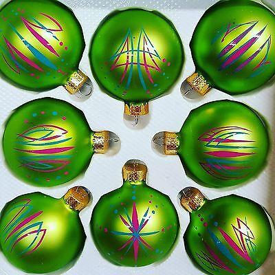 Custom Classic Car Pinstriped Christmas Ornaments ()