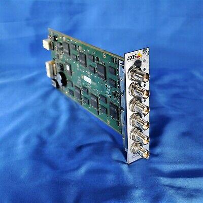 Axis Communications Q7406 Six Channel Video Encoder Blade