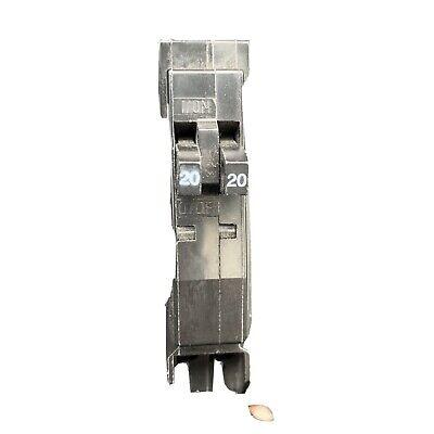 Square D Qot2020 Circuit Breaker 20 Amp 120240v Single Pole New Without Box
