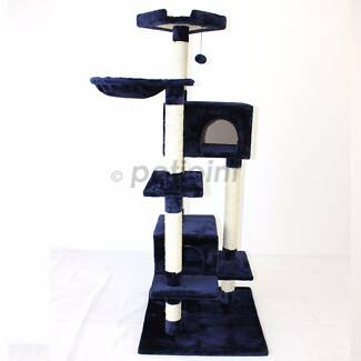 Cat Scratcher Scratching Post Tree House Gym Toy Poles Furniture