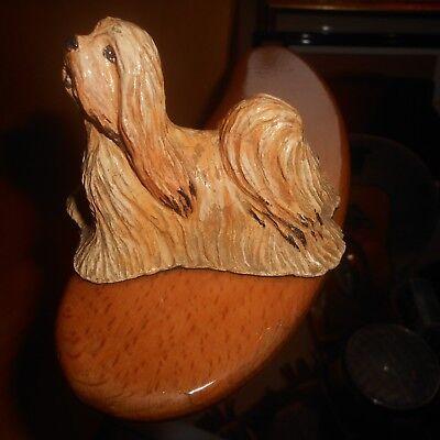 dog figure designed by Sudek, pekingese?