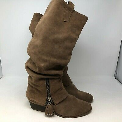 Tall Leather Boots (Array Suede leather boots tall sz)