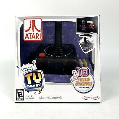 NEW ATARI Jakks Pacific 3564 Video Games Controller Plug&Play TV Games Ages 5+