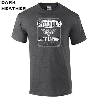 355 Buffalo Bills Body Lotion Mens T-Shirt villain funny movie scary halloween - Halloween Funny Movies