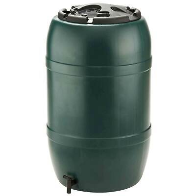 210L Large Water Butt With Tap & Stand - Collect Rain Water - Recycled Plastic!