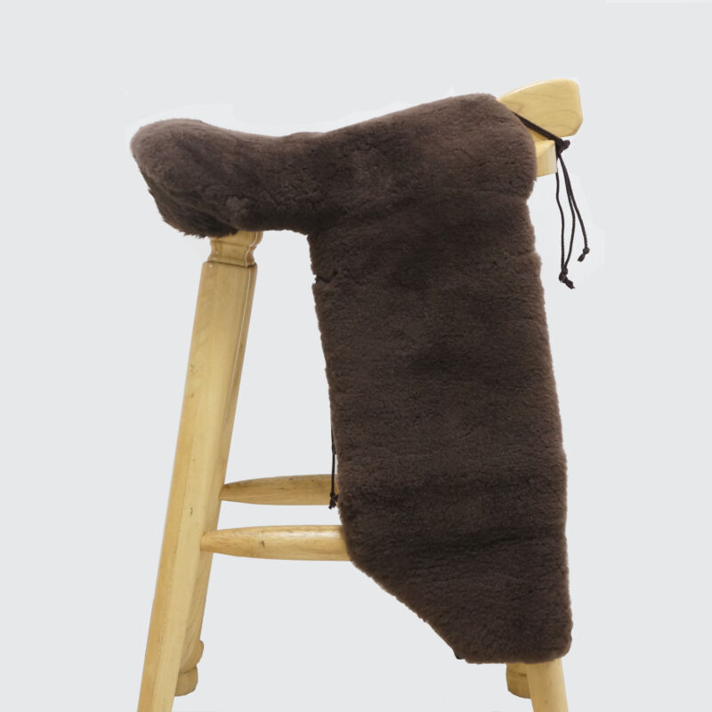 Premium Sheepskin Western Saddle Cover Australian Merino Fleece Saddle Seat Pad