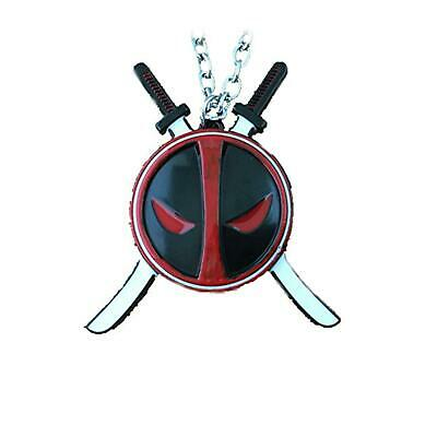 Deadpool Swords Movie TV Show Series Pendant Charm Necklace