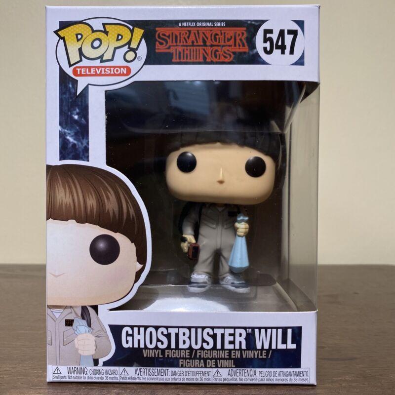 Ghostbusters WILL Stranger Things 2 W3 #547 Vinyl Figure IN STOCK Funko POP