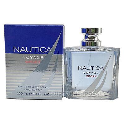 Nautica Voyage Sport for Men 3.4 oz Eau de Toilette Spray NIB AUTHENTIC